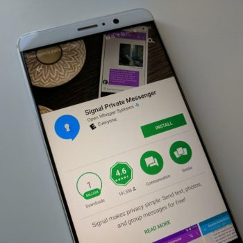 Signal for Android now circumvents