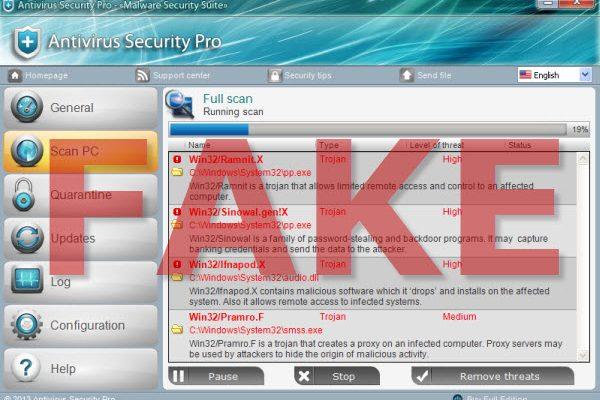 استفاده آنتیویروس جعلی از گواهینامههای سرقتیاستفاده آنتیویروس جعلی از گواهینامههای سرقتی