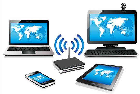 تفاوت سیستم wifi با Wireless