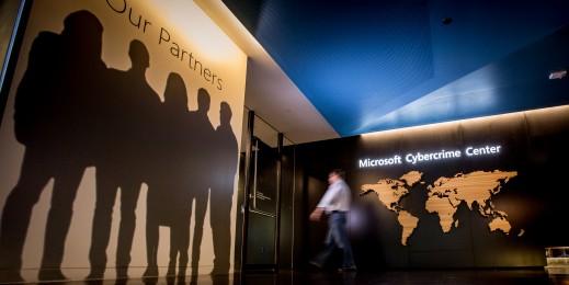 مرکز فوق مدرن مایکروسافت برای مقابه با جرایم اینترنتی