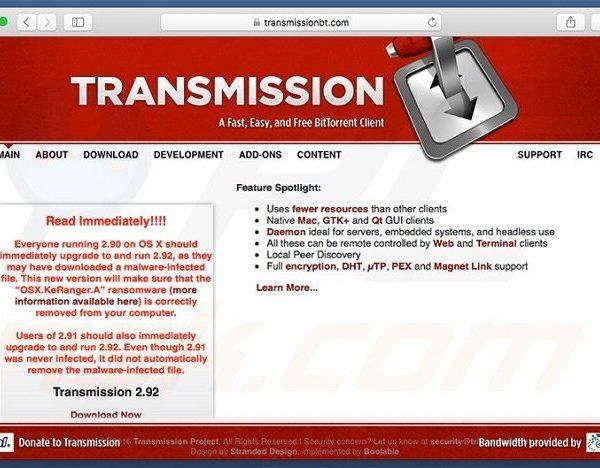 keranger ransomware