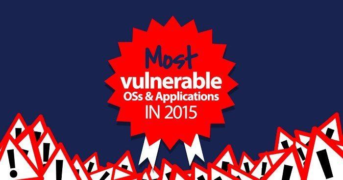 آسیب پذیرترین نرمافزارها و سیستم عامل های سال 2015 اعلام شد