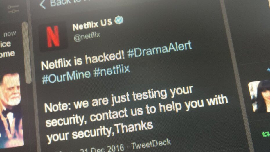 Netflix's Twitter account hacked by OurMine