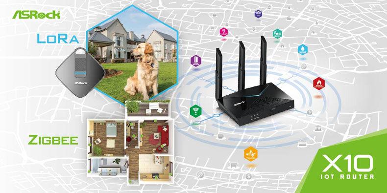 روتر بی سیم AC1300 برای مدیریت اینترنت اشیا و خانه های هوشمند